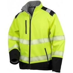 vaatteet Takit Result R476X Fluorescent Yellow/Black