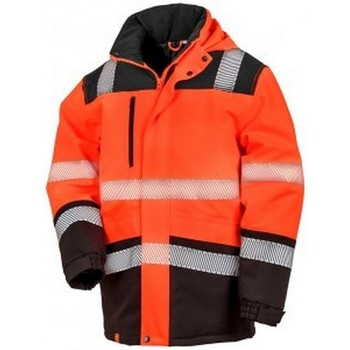 vaatteet Takit Result R475X Fluorescent Orange/Black