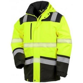 vaatteet Takit Result R475X Fluorescent Yellow/Black