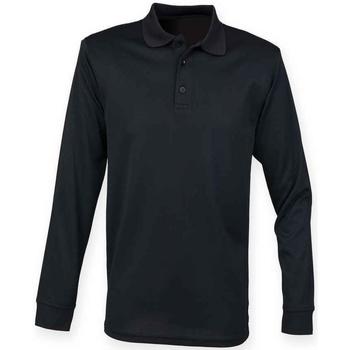 vaatteet T-paidat & Poolot Henbury H478 Black