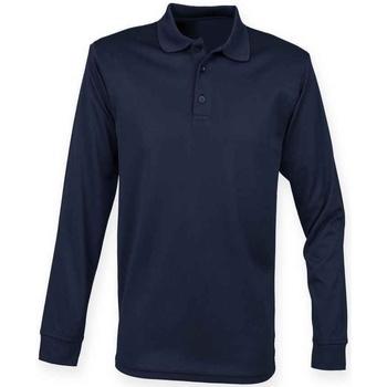 vaatteet T-paidat & Poolot Henbury H478 Navy
