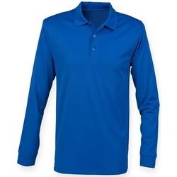 vaatteet T-paidat & Poolot Henbury H478 Royal Blue