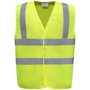 vaatteet Neuleet / Villatakit Yoko YK110 Yellow