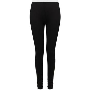 vaatteet Naiset Legginsit Sf SK426 Black/White