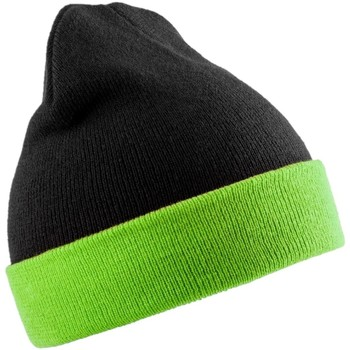 Asusteet / tarvikkeet Pipot Result Genuine Recycled RC930 Black/Lime Green