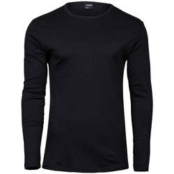 vaatteet Miehet T-paidat pitkillä hihoilla Tee Jays T530 Black