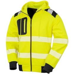 vaatteet Svetari Result Genuine Recycled RS503 Fluorescent Yellow
