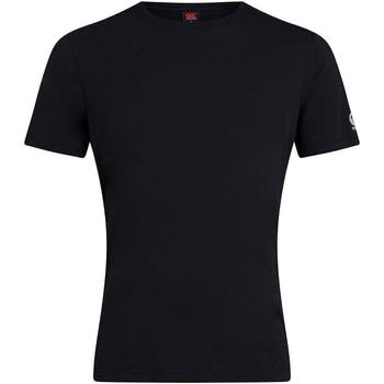 vaatteet Miehet Lyhythihainen t-paita Canterbury CN226 Black