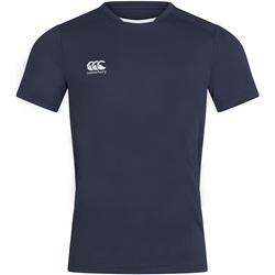 vaatteet Miehet Lyhythihainen t-paita Canterbury CN260 Navy