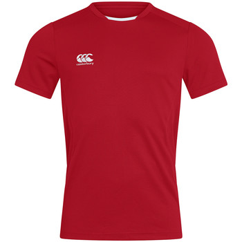 vaatteet Miehet Lyhythihainen t-paita Canterbury CN260 Red