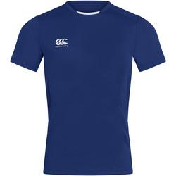 vaatteet Miehet Lyhythihainen t-paita Canterbury CN260 Royal Blue