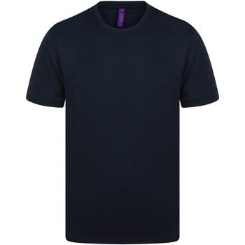 vaatteet Miehet Lyhythihainen t-paita Henbury H024 Navy