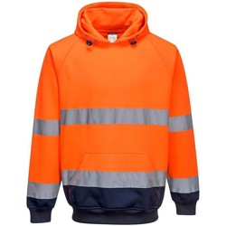 vaatteet Miehet Svetari Portwest  Orange/Navy