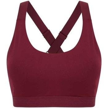 vaatteet Naiset Urheiluliivit Tombo TL371 Dark Burgundy