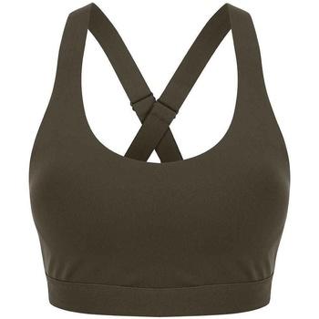 vaatteet Naiset Urheiluliivit Tombo TL371 Olive Green