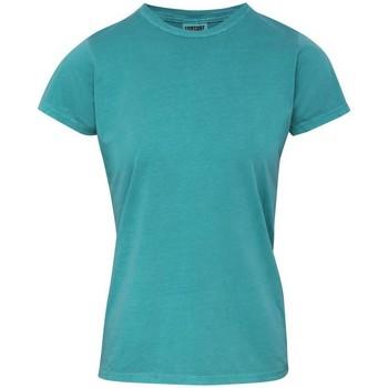 vaatteet Naiset Lyhythihainen t-paita Comfort Colors CO010 Seafoam
