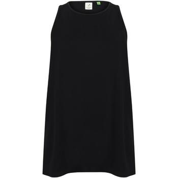 vaatteet Naiset Hihattomat paidat / Hihattomat t-paidat Tombo TL507 Black