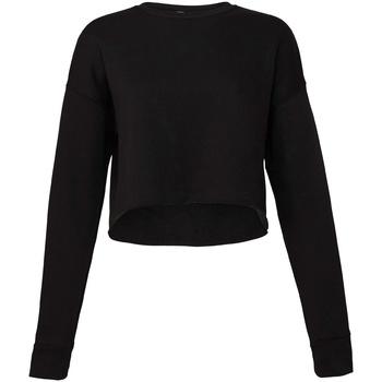 vaatteet Naiset Svetari Bella + Canvas BE7503 Black