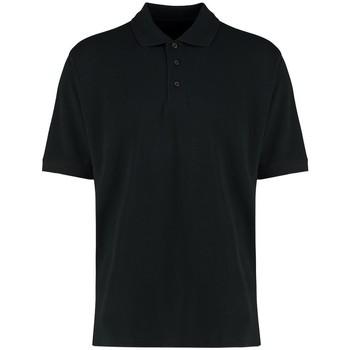vaatteet Miehet Lyhythihainen poolopaita Kustom Kit KK460 Black