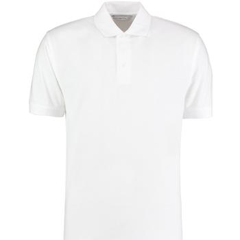 vaatteet Miehet Lyhythihainen poolopaita Kustom Kit KK460 White