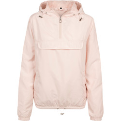 vaatteet Naiset Tuulitakit Build Your Brand BY095 Light Pink