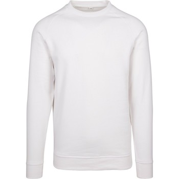 vaatteet Miehet Svetari Build Your Brand BY094 White