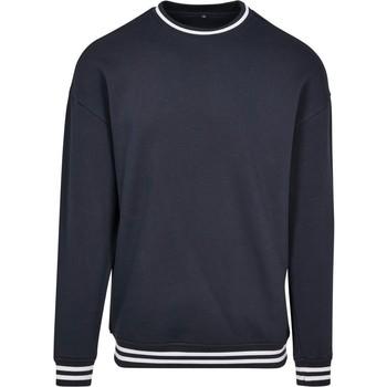 vaatteet Miehet Svetari Build Your Brand BY104 Navy/White