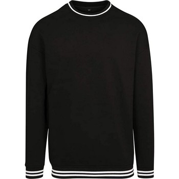 vaatteet Miehet Svetari Build Your Brand BY104 Black/White