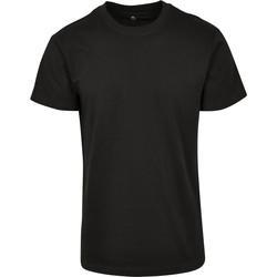 vaatteet Lyhythihainen t-paita Build Your Brand BY123 Black