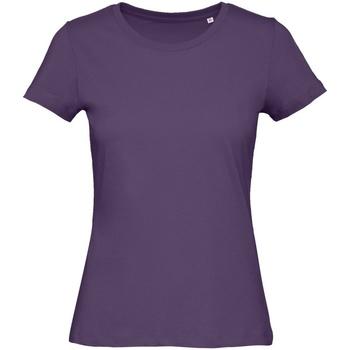 vaatteet Naiset Lyhythihainen t-paita B&c B118F Urban Purple