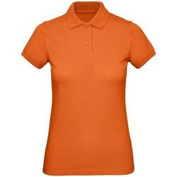 vaatteet Naiset Paitapusero / Kauluspaita B&c B260F Urban Orange