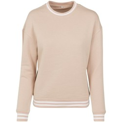 vaatteet Naiset Svetari Build Your Brand BY105 Light Pink/White