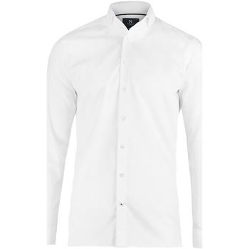 vaatteet Miehet Pitkähihainen paitapusero Nimbus N102M White