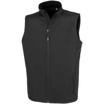 vaatteet Miehet Neuleet / Villatakit Result Genuine Recycled R902M Black