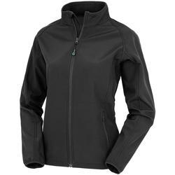 vaatteet Naiset Takit Result Genuine Recycled R901F Black