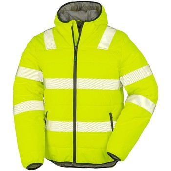 vaatteet Miehet Takit Result Genuine Recycled R500X Fluorescent Yellow