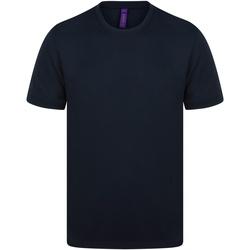vaatteet Miehet Lyhythihainen t-paita Henbury HB024 Navy