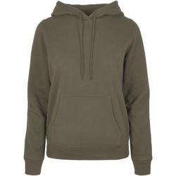 vaatteet Naiset Svetari Build Your Brand BB007 Olive