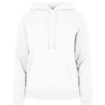 vaatteet Naiset Svetari Build Your Brand BB007 White