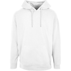 vaatteet Miehet Svetari Build Your Brand BB006 White
