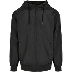 vaatteet Miehet Takit Build Your Brand BY151 Black