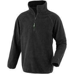 vaatteet Lapset Fleecet Result Genuine Recycled R905J Black