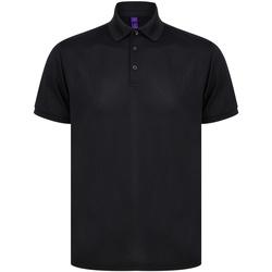 vaatteet T-paidat & Poolot Henbury HB465 Black