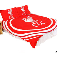 Koti Lapset Pussilakanat Liverpool Fc Double Red