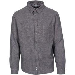 vaatteet Miehet Pitkähihainen paitapusero Trespass  Dark Grey Marl