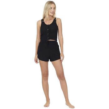 vaatteet Naiset pyjamat / yöpaidat Brave Soul  Black