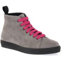 kengät Naiset Bootsit Frau CACHEMIRE IRON Grigio