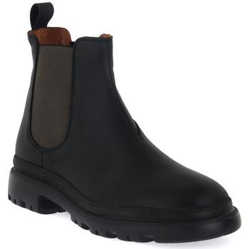 kengät Miehet Bootsit Frau CRAZY NERO MILITARY Nero