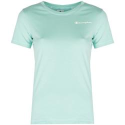 vaatteet Naiset Lyhythihainen t-paita Champion  Sininen