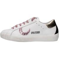 kengät Naiset Matalavartiset tennarit Uma Parker 830221 WHITE